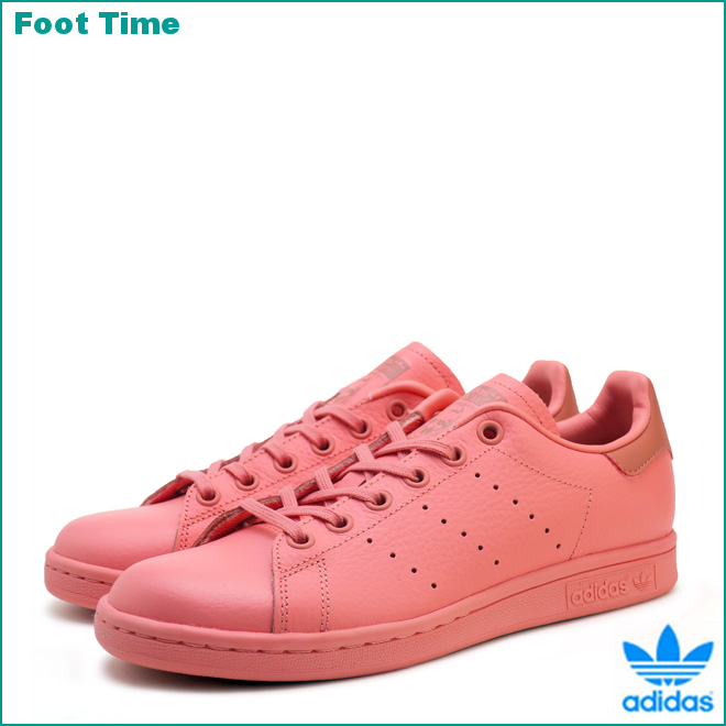 Adidas Stan Smith J adidas STAN SMITH J tactile Rose / tactile Rose / low pink TACTILE ROSE/TACTILE ROSE/RAW PINK CP9809 Lady's youth sneakers