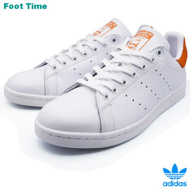 adidas Originals STAN SMITH アディダス オリジナルス スタンスミス FTWWHT/FWHITE/TRAORA ホワイト/ホワイト/オレンジ CQ2207 靴 メンズ靴 レディース靴 スニーカー