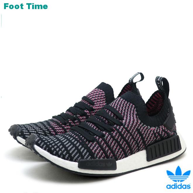 87f4b5d8e7a Adidas originals N M D STLT R1 PK adidas ORIGINALS NMD R1 STLT PK black    gray   pink BLACK GREY PINK CQ2386 men gap Dis sneakers