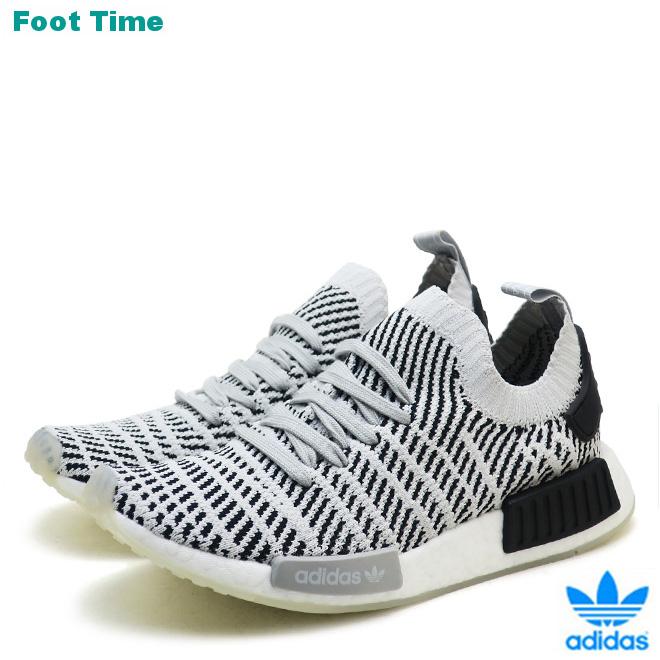 online store 938e0 edb51 Adidas originals N M D STLT R1 PK adidas ORIGINALS NMD R1 STLT PK gray /  gray / black GREY/GREY/BLACK CQ2387 men gap Dis sneakers