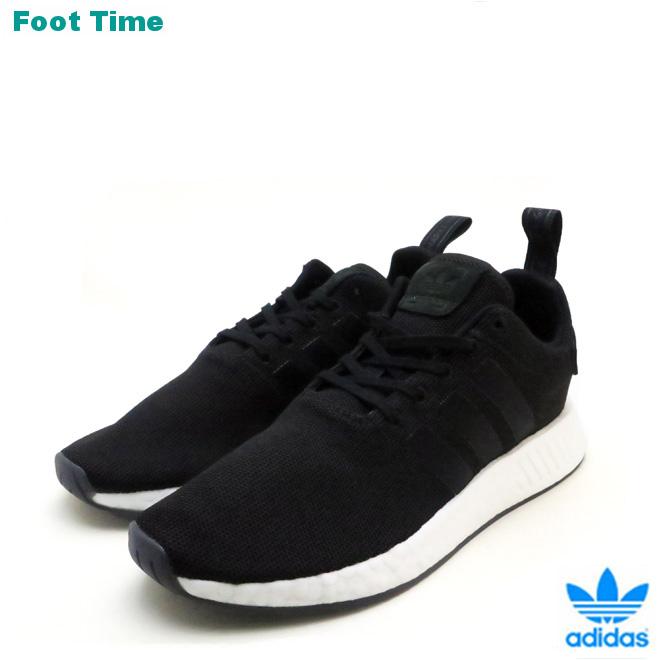 newest 65e54 6dcb7 Adidas originals N M D R2 adidas ORIGINALS NMD R2 black / black BLACK/BLACK  CQ2402 Lady's men sneakers
