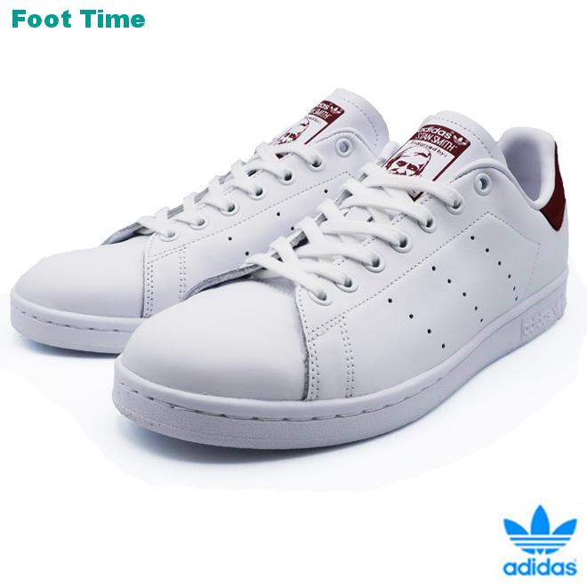 adidas Originals STAN SMITH アディダス オリジナルス スタンスミス FTWWHT/CBURGU/FTWWHT ホワイト/バーガンディ/ホワイト EE5803 靴 メンズ靴 レディース靴 スニーカー