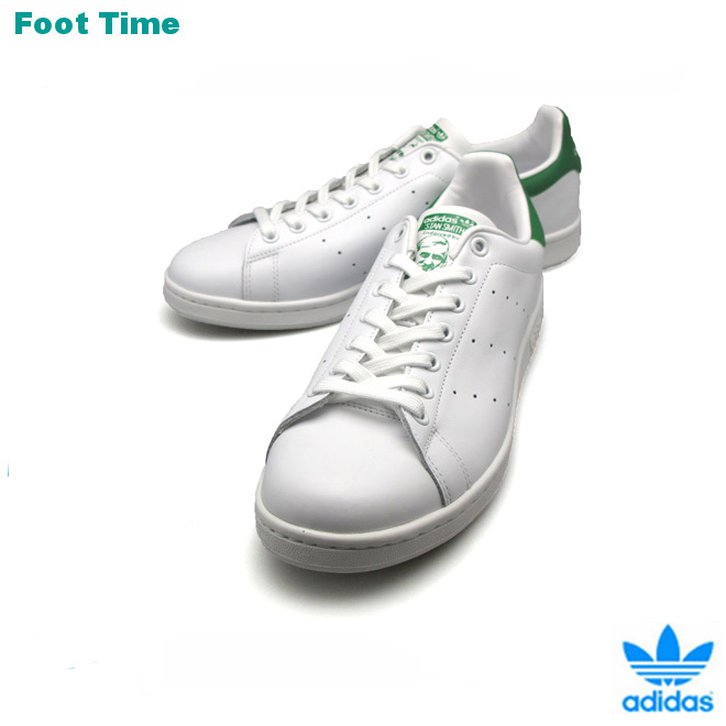 It is the fixture of the review after the arrival to Adidas Stan Smith white green adidas STAN SMITH WHITEGREEN M20324 men sneakers