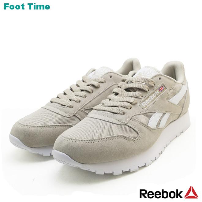 Reebok classical music leather ESTL REEBOK CL LEATHER ESTL men sneakers parchment white PARCHMENTWHITE CN5016