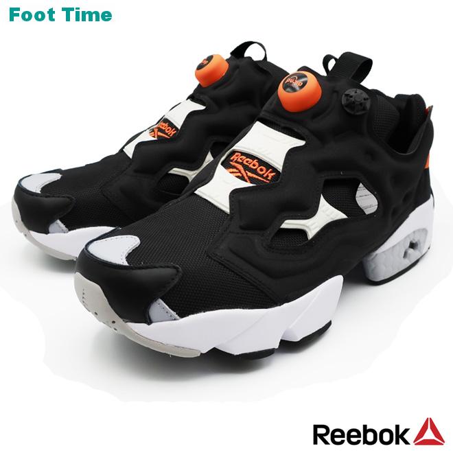 REEBOK INSTAPUMP FURY OG MUリーボック インスタポンプ フューリー OG MU BLACK/WHITE/FIEORA ブラック/ホワイト/ファイアリーオレンジ  EH1785 靴 メンズ靴 レディース靴 スニーカー