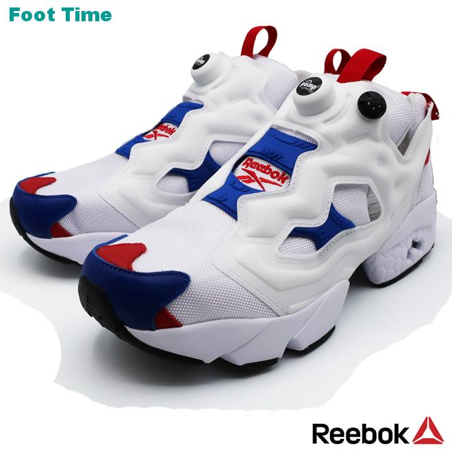 REEBOK INSTAPUMP FURY OG MUリーボック インスタポンプ フューリー OG MU WHITE/CROYAL/SCARLE ホワイト/カレッジロイヤル/スカーレット  FU9113 靴 メンズ靴 レディース靴 スニーカー