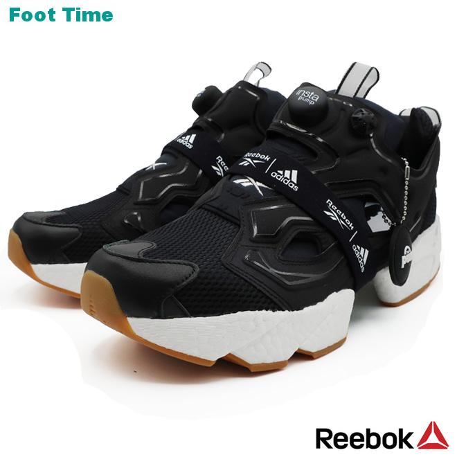 REEBOK×ADIDAS INSTAPUMP FURY BOOSTリーボック×アディダス インスタポンプ フューリー ブースト BLACK/WHITE/RBKG06 ブラック/ホワイト/リーボックラバーガム FU9239 靴 メンズ靴 スニーカー