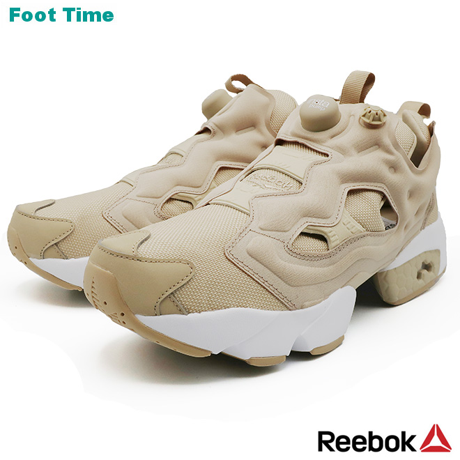 ReebokのINSTA PUMP FURYシリーズから ニューカラーが登場 リーボック インスタポンプ フューリー OG 価格交渉OK送料無料 REEBOK INSTAPUMP トレンド FZ4428 ベージュ レディース靴 スニーカー WHITE 靴 FURY メンズ靴 BEIGE ホワイト