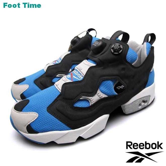 REEBOK INSTAPUMP FURY OG リーボック インスタポンプ フューリー OG ECHO BLUE/BLACK/STEEL エコーブルー/ブラック/スチール  M48756 靴 メンズ靴 レディース靴 スニーカー