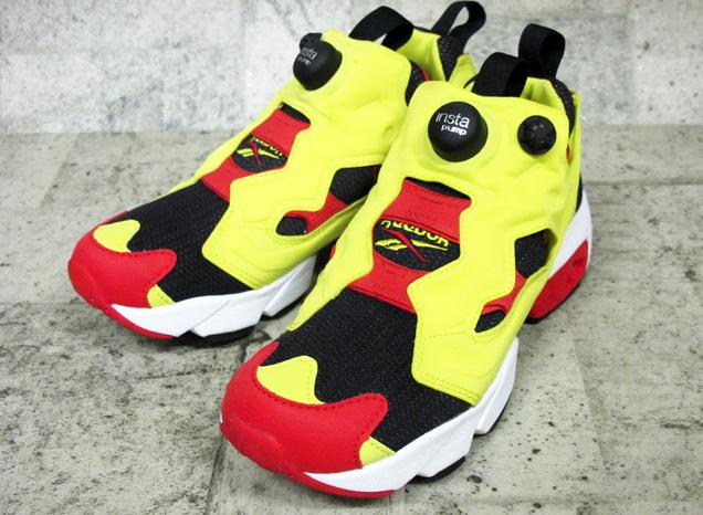 REEBOK INSTAPUMP FURY OG リーボック インスタポンプ フューリー OG BLACK/GREEN/RED/WHITE ブラック/グリーン/レッド/ホワイト  V47514 靴 メンズ靴 レディース靴 スニーカー