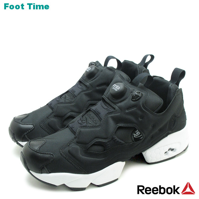53d24278e68a Foot Time  Reebok instapompfury OG Reebok INSTAPUMP FURY OG black   white  BLACK WHITE V65750 mens Womens sneakers