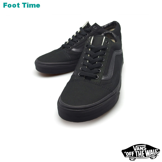 vans old skool black unisex
