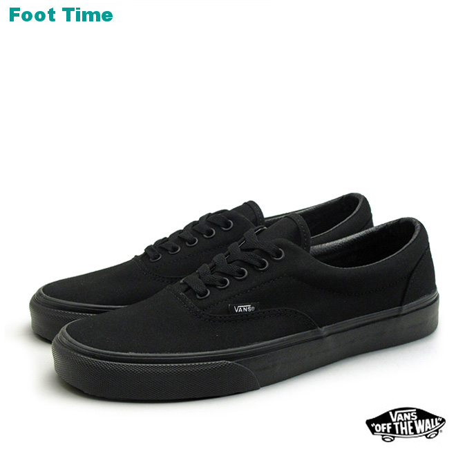 a5b6f7d6c0b4 In the promise of the vans era VANS ERA Black   Black BLACK BLACK  VN-0QFKBKA mens sneakers arrival report views