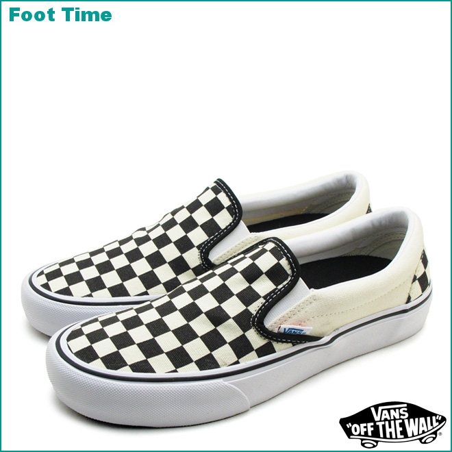 Pro Vans On 50th Time Checkerboard 82 Model Slip Foot 7x1XU1