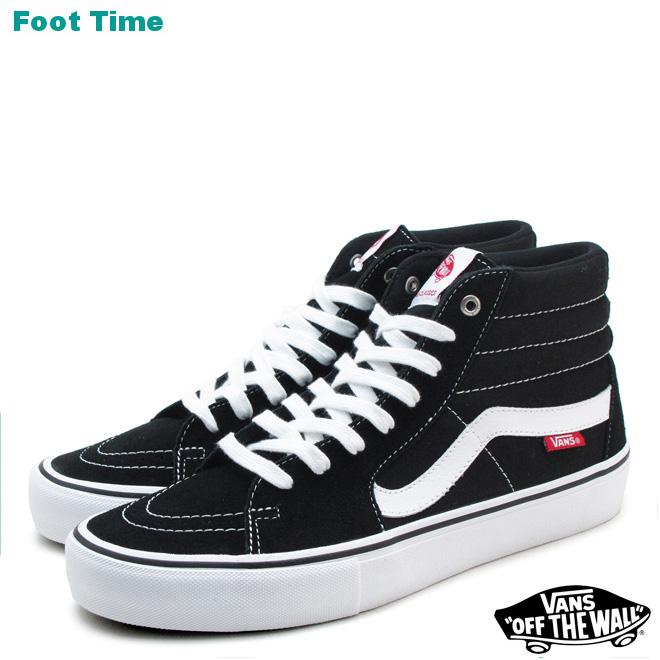 0041e0edfb Vans skating high professional VANS SK8-HI PRO black   white BLACK WHITE  VN000VHGY28 mens sneakers
