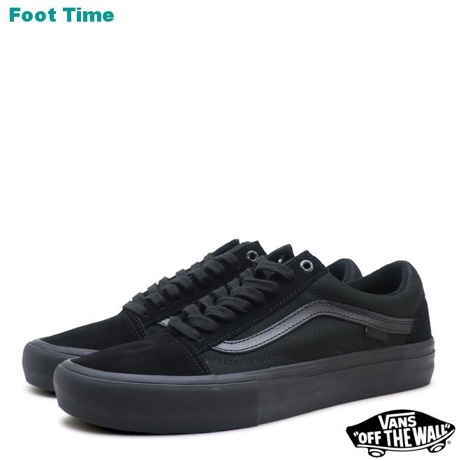 9e12028cce4d13 Vans old school pro VANS OLD SKOOL PRO blackout BLACKOUT VN000ZD41OJ men  sneakers