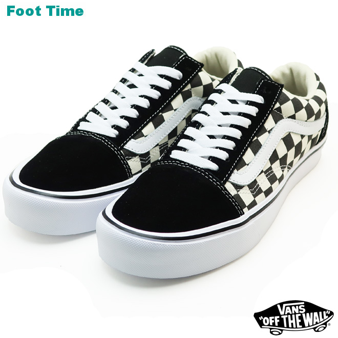 Vans old school light (checkerboard) VANS OLD SKOOL LITE (CHEKERBOARD)  black   white BLACK WHITE VN0A2Z5W5GX men gap Dis sneakers 2763ce403