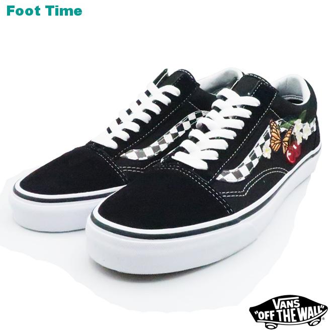 3220b33ed0928f Vans old school (checker floral) VANS OLD SKOOL (CHECKER FLORAL) black BLACK  VN0A8G1I5Z men gap Dis sneakers
