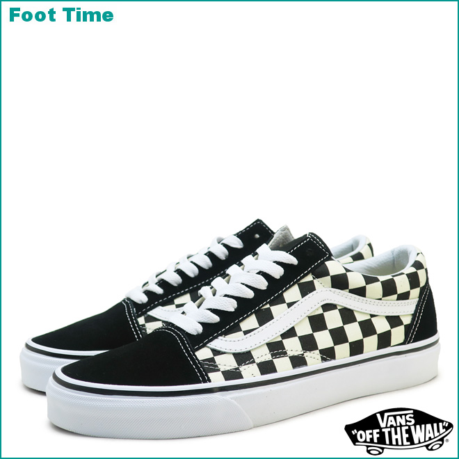 Vans old school (primary check) VANS OLD SKOOL (PRIMARY CHECK) black / white  BLACK/WHITE VN0A38G1P0S men gap Dis sneakers