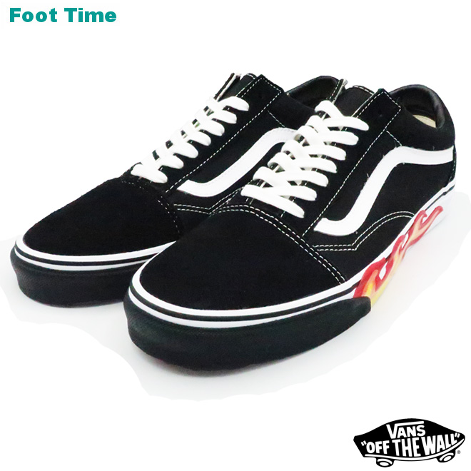 a168a7c5d4 Vans old school (frame cutout) VANS OLD SKOOL (FLAME CUT OUT) black   toe  roux white BLACK TRUE WHITE VN0A8G1UJG men gap Dis sneakers
