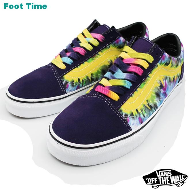 76e7262df6 VANS OLD SKOOL (Tie Dye) vans old school (tie-dyeing) MYSTERIOSO TRUE WHITE  ミステリオーソ   toe roux white VN0A38G1VMO men shoes Lady s shoes sneakers