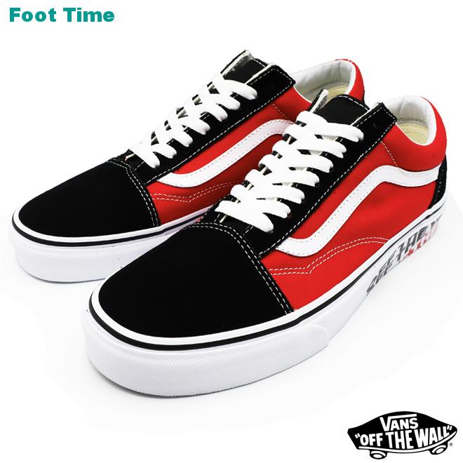 eaa1c75645 VANS OLD SKOOL (OTW Sidewall) vans old school (OTW side wall) BLACK RACING  RED black   racing red VN0A38G1VRH men shoes sneakers