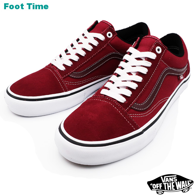 969874f030394 Vans old school pro VANS OLD SKOOL PRO rumba red / toe roux white RUMBA RED  ...