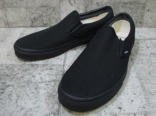 292c0c8afed6 Station wagons classical music slip-ons VANS CLASSIC SLIP ON BLACK black  VN-0EYEBKA ...