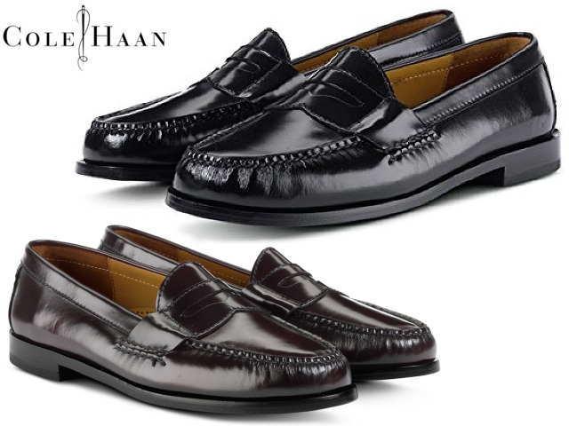 7991a062e3a Cole Haan loafer men COLE HAAN pinch penny 03503 03504 black bar Gandhi