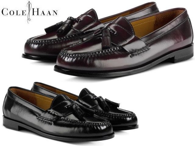 e517e3f4f65 Cole Haan loafer men COLE HAAN pinch tassel 03506 03507 black bar Gandhi
