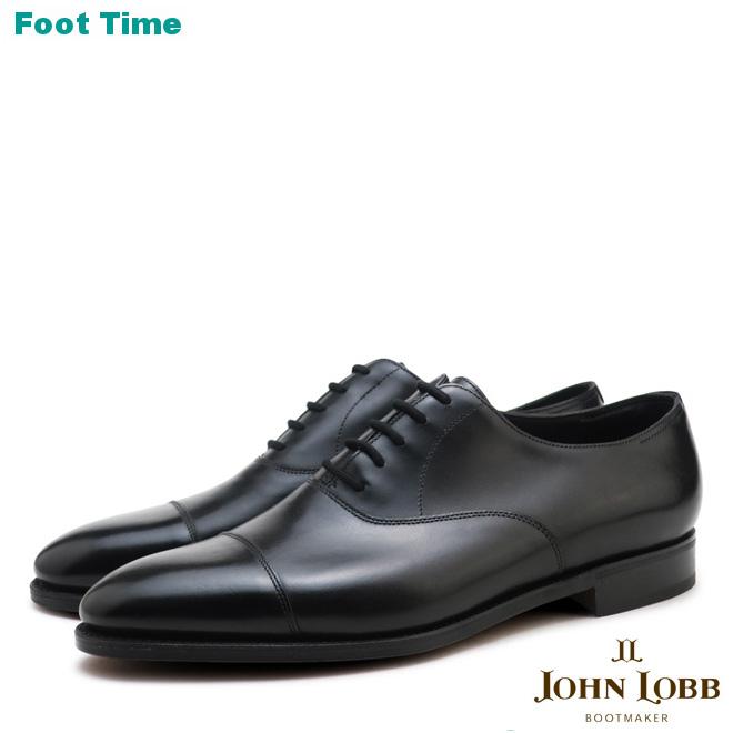ジョンロブ シティ2 シングルレザー ブラック JOHN LOBB CITY2 SINGLE LEATHER BLACK キャップトゥ オックスフォード シューズ イギリス製 CAP TOE OXFORD SHOES MADE IN ENGLAND メンズ ビジネス ドレス シューズ