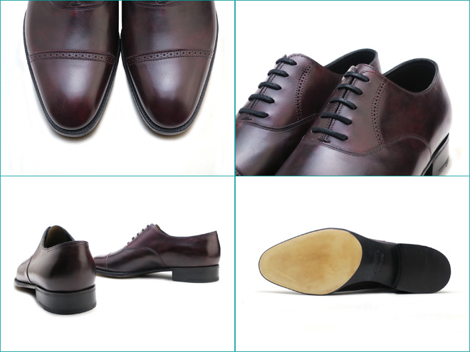 Foot Time Cap Toe Oxford Shoes Made In England Men Business Dress