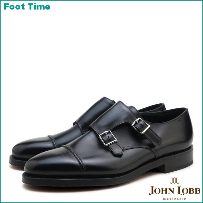 William Leather Monk-strap Shoes - BlackJohn Lobb m4H6iH7Vy