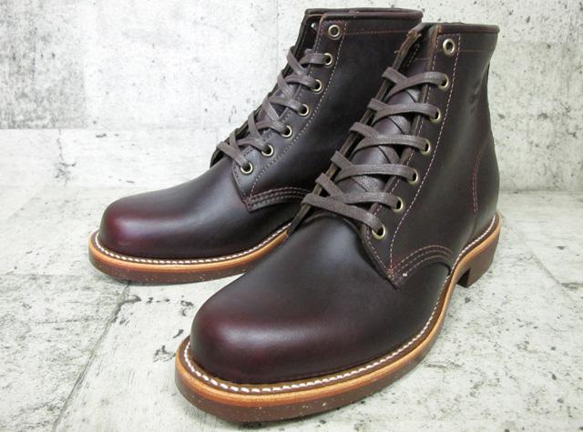 【人気アメカジブランド】  送料無料 チペワ 6インチ サービス ブーツ コードバン CHIPPEWA 6INCH SERVICE BOOT CORDOVAN D:WIDTH #1901M25 メンズ ブーツ