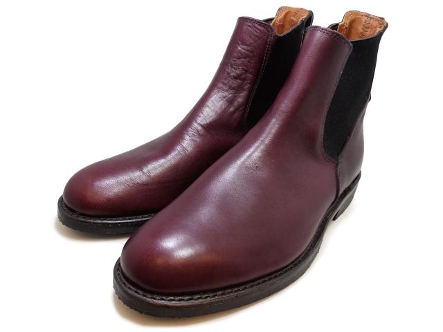 純正ケア用品2点プレゼント レッドウイング ブーツ 9077 ミルワン コングレス ブーツ サイドゴア ブラックチェリー フェザーストーン RED WING Mil-1 Congress Boots Black Cherry Featherstone 国内正規品