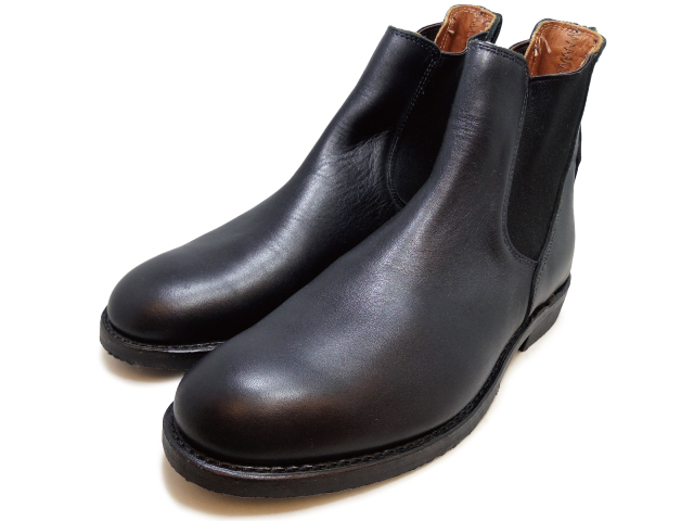 純正ケア用品2点プレゼント レッドウイング ブーツ 9079 ミルワン コングレス ブーツ サイドゴア ブラック フェザーストーン RED WING Mil-1 Congress Boots Black Featherstone 国内正規品
