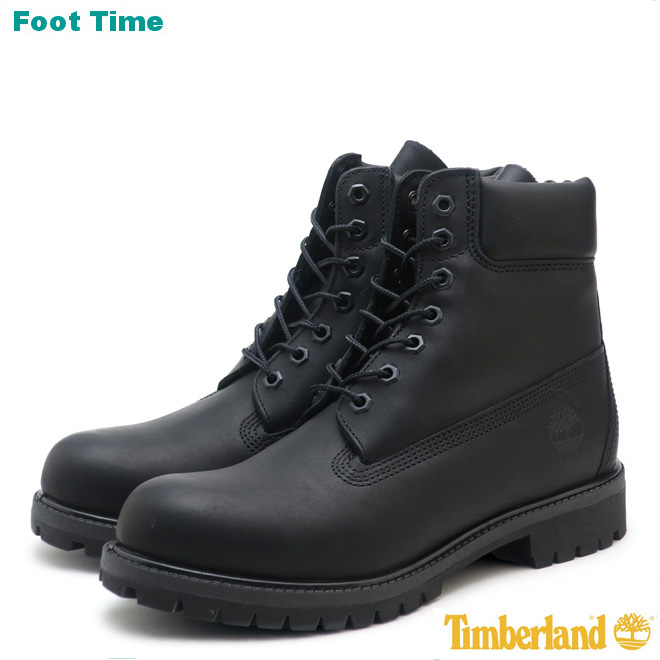 6 inches of Timberland premium boots TIMBERLAND 6INCH PREMIUM BOOT black BLACK A1MA6 nubuck men boots