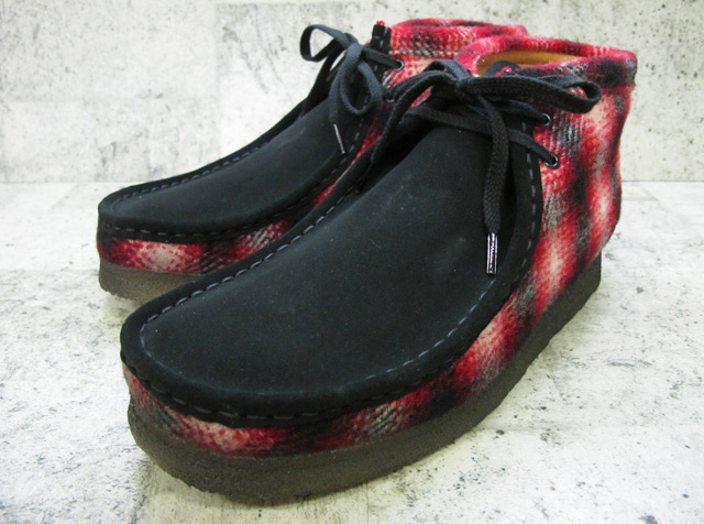 newest fa484 0995f Kulaki wallaby boots CLARKS WALLABEE BOOT RED COMBI SUEDE red combination  suede cloth  20355796 ...
