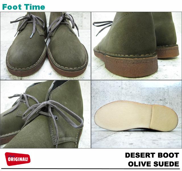 Foot Time Clarks Desert Boots Clarks Desert Boot Olive