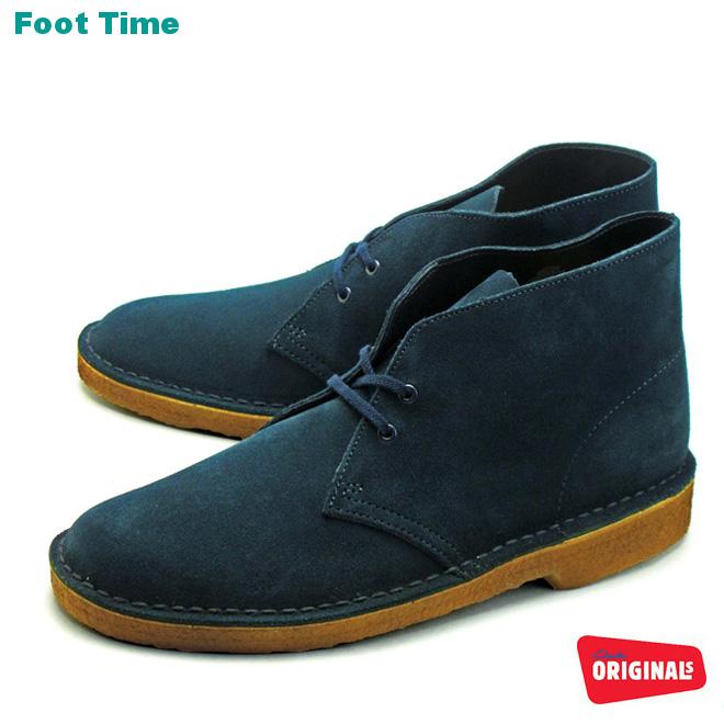 Kulaki desert boots midnight blue suede CLARKS DESERT BOOT MIDNIGHT BLUE SUEDE 26109444 men's shoes