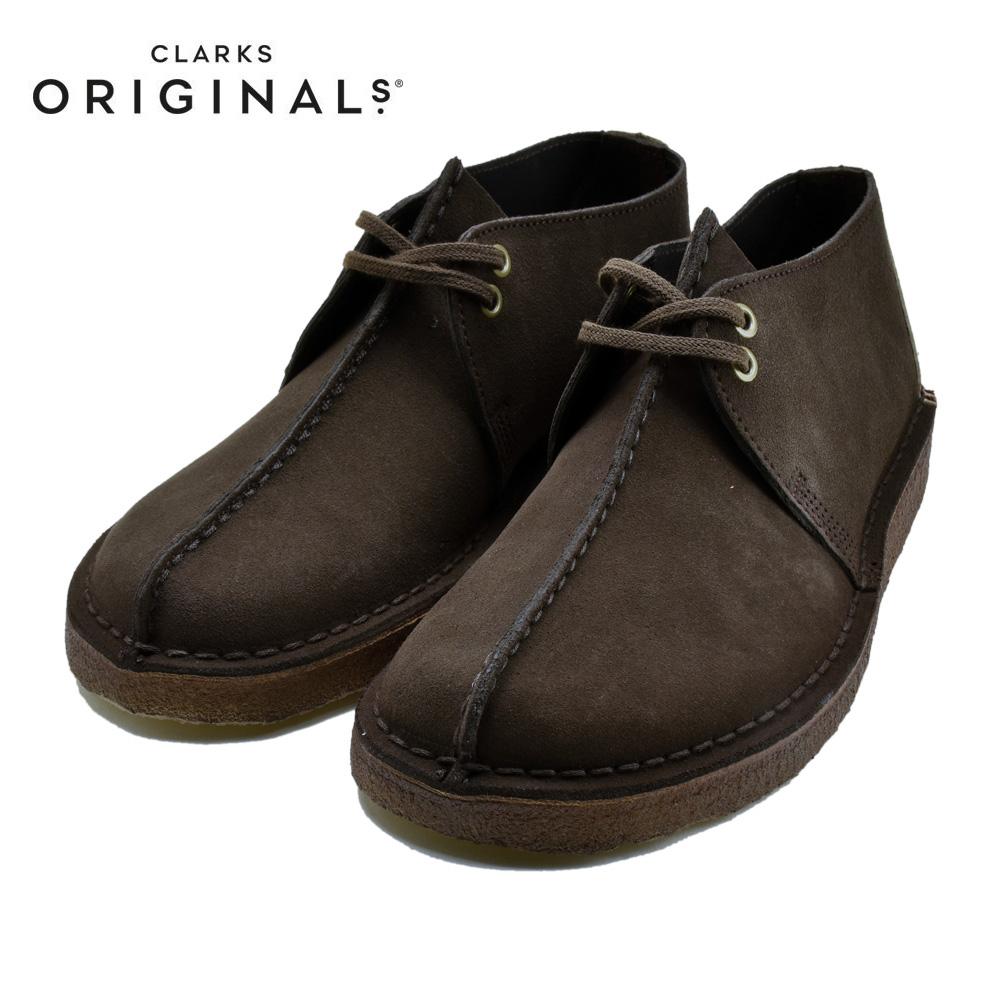 CLARKS DESERT TREK クラークス デザート トレック DARK BROWN SUEDEダークブラウンスエード 26138087 靴 メンズ靴 カジュアルシューズ