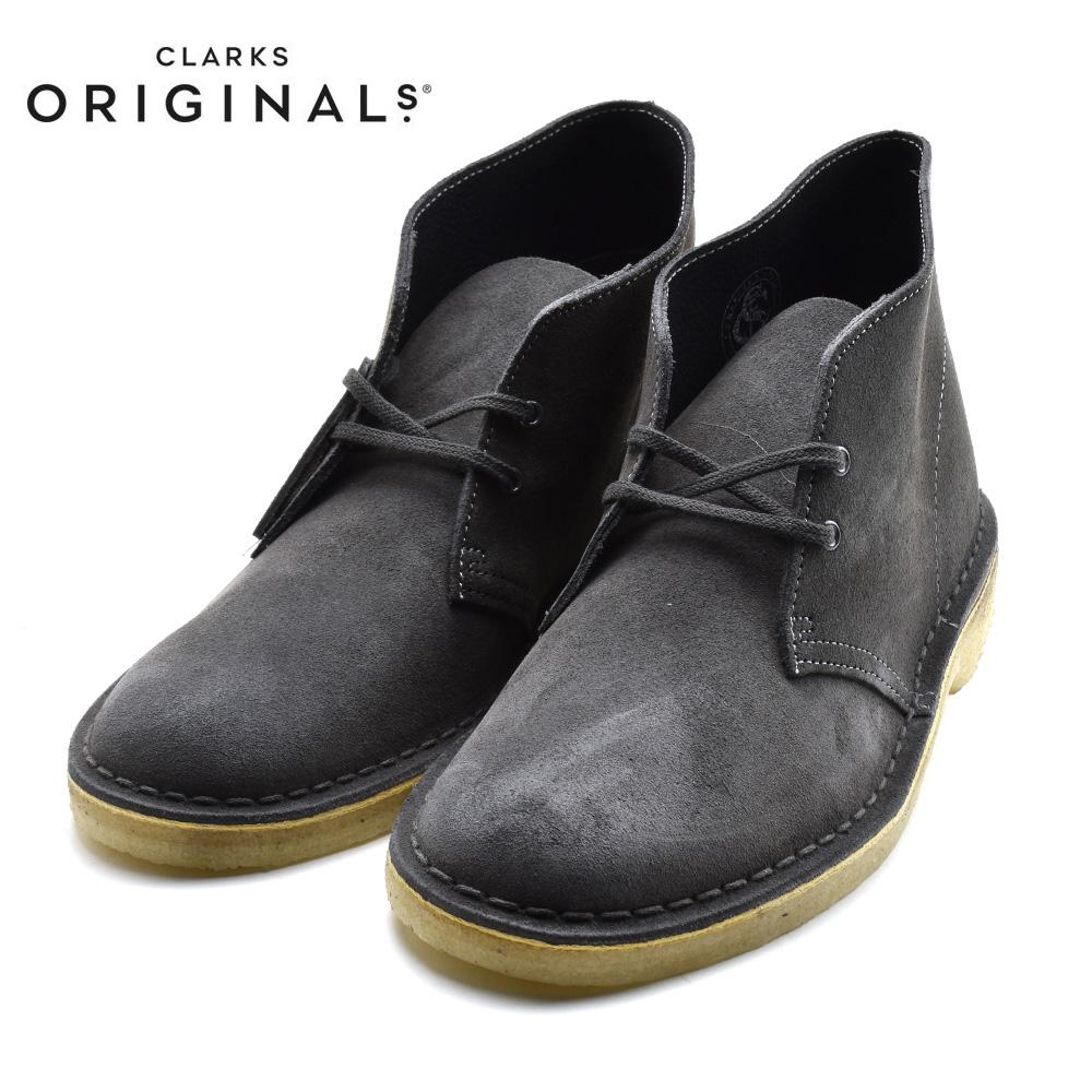 CLARKS DESERT BOOT クラークス デザートブーツ SLATE GREY SUEDE スレートグレー スエード 26144232 靴 メンズ靴 デザートブーツ