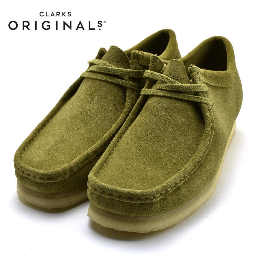 CLARKS WALLABEE LO クラークス ワラビー ロー KHAKI SUEDE カーキ スエード 26146513 靴 メンズ靴 カジュアル シューズ