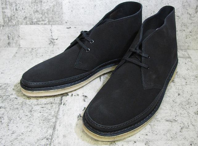 クラークス デザート ガード ブーツ CLARKS DESERT GUARD BOOT 62131 BLACK ブラック メンズ クレープソール 送料無料