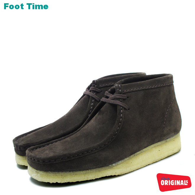 クラークス ワラビー ブーツCLARKS WALLABEE BOOT 35402 26103658 BROWN SUEDE