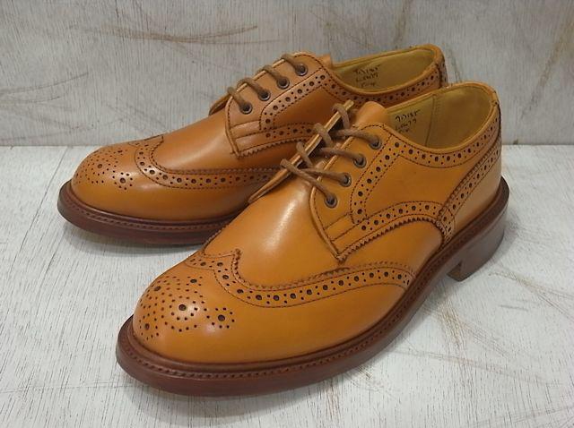 トリッカーズ バートン レディース カントリーブーツ ウィングチップ エイコンアンティーク レディース ブーツ Tricker's L5679 Brogue Shoe Acorn Antique