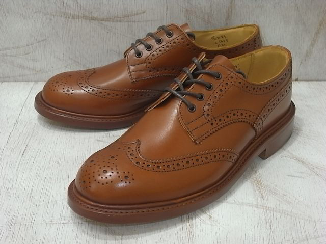トリッカーズ バートン レディース カントリーブーツ ウィングチップ マロンアンティーク レディース ブーツ Tricker's L5679 Brogue Shoe Marron Antique