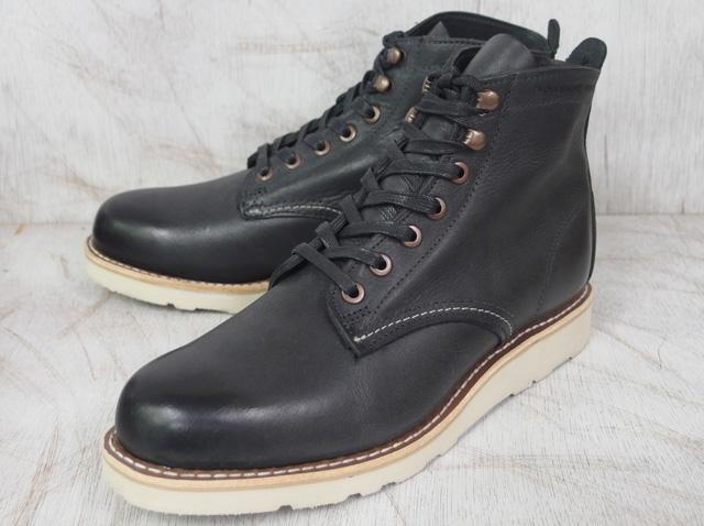 ウルヴァリン 1000マイル ブーツ ブラック ホーウィン ヴィンテージ レザー メンズ ブーツ ウルバリン WOLVERINE 1000 MILE PRESTWICK BOOT W00914 Black Horween Vintage Leather MADE IN USA