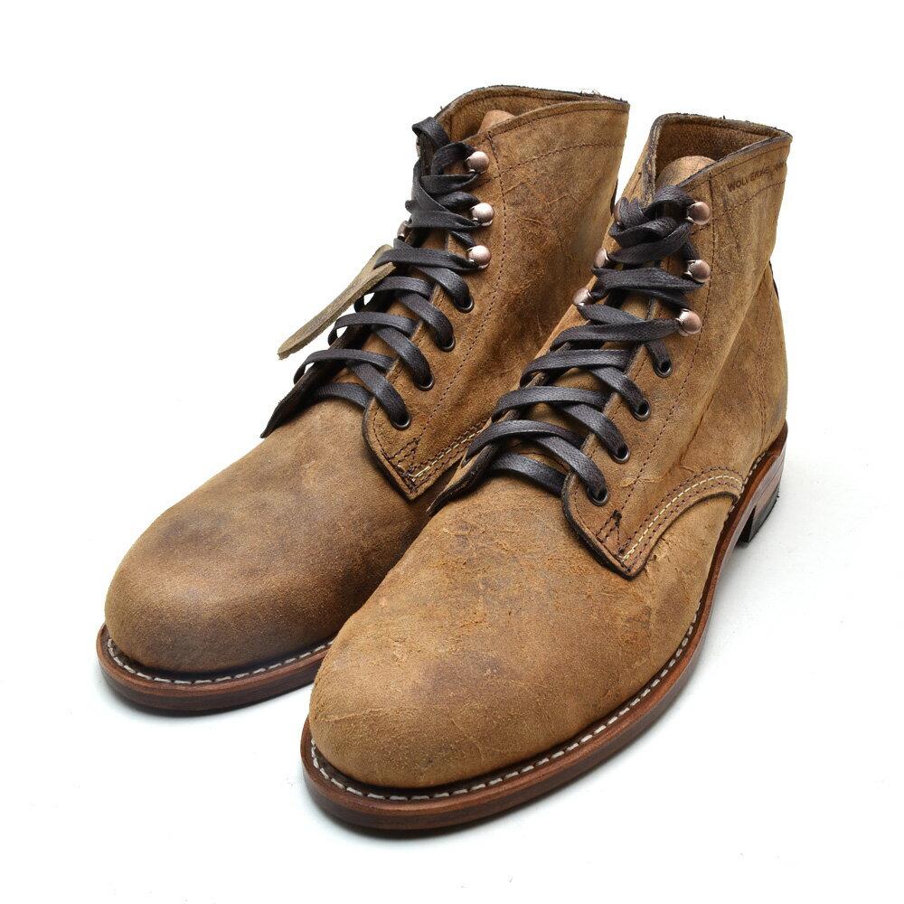 ウルヴァリン 1000マイルブーツ 6インチブーツ ブラウン ワクシーレザー メンズ ブーツ WOLVERINE W40304 1000 MILE 6INCH BOOT BROWN WAXY LEATHER