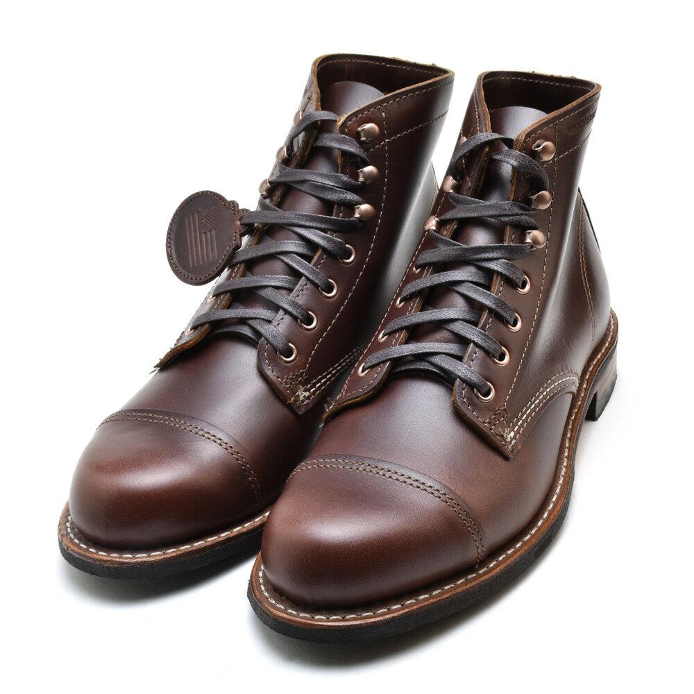 ウルヴァリン 1000マイルブーツ 6インチブーツ ブラウン キャップ トゥ メンズ ブーツ WOLVERINE W40555 1000 MILE 6INCH BOOT  BROWN CAP TOE